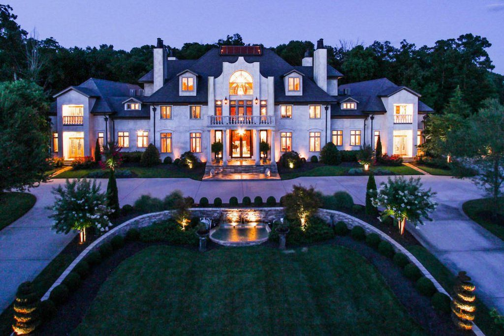 Mansion Homes And Dream Houses Forest Creek Manor Home