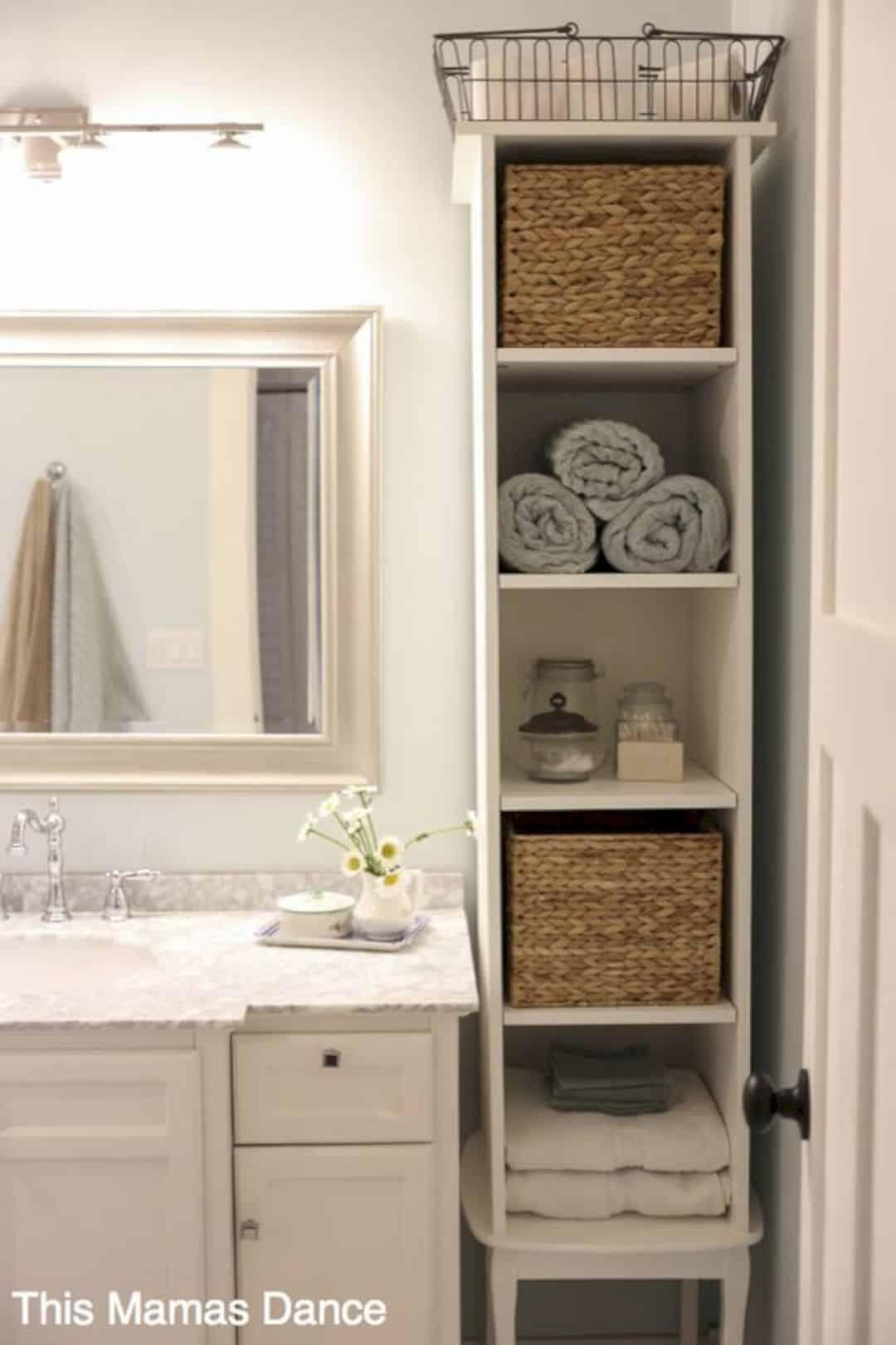11 Incredible Bathroom Decorating Ideas Bathroom Storage Units Small Space Bathroom Bathroom Storage Solutions