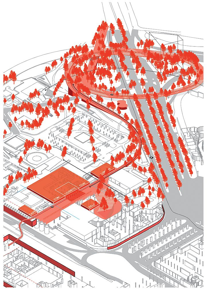 Parisu0027 CBD La Défense Strategic Masterplan Masterplan\/Strategic - strategic plan