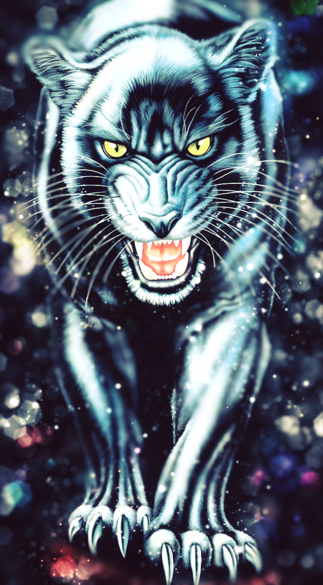 Black Panther 630x1139 Black Panther Live Wallpaper Animated In Comments I Redd It Submitted By Livewallpaper Io Animal Wallpaper Black Panther Animals