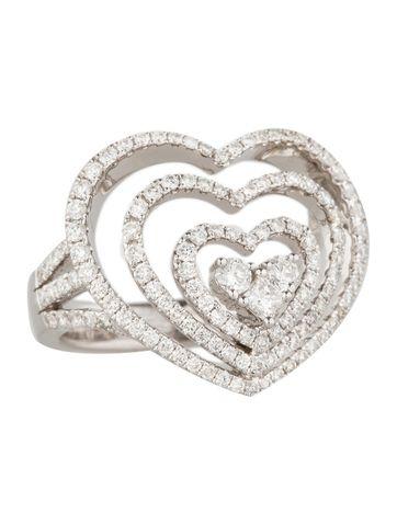 Diamond Heart Ring 1.43ctw