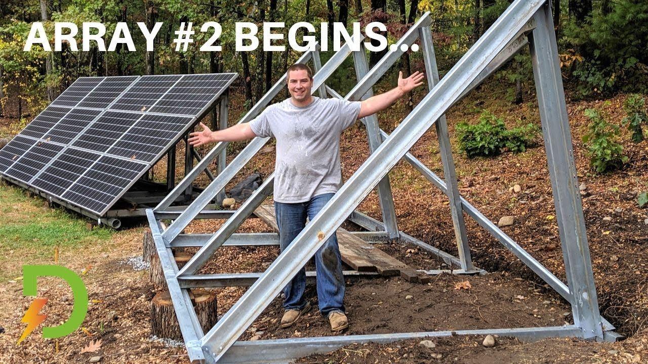 Unistrut Solar Panel Support Framing Structures