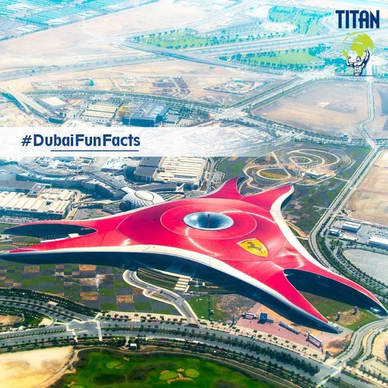 Park Ferrari World In Abu Dhabi Ferrari World Abu Dhabi