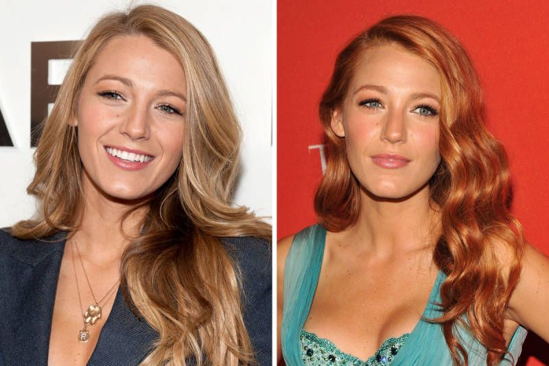 16 Starlets Who Ve Tried The Redhead Look Red Blonde Hair Red Hair Tan Skin Light Red Hair