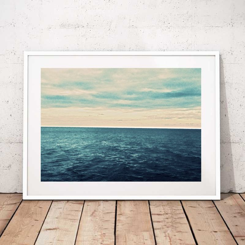 Sea Print Sea Printable Sea Wall Art Ocean Print Ocean Wall