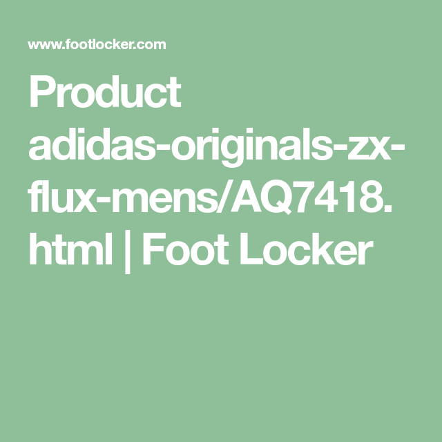 brand new 3eb60 7f54b Product adidas-originals-zx-flux-mens/AQ7418.html | Foot ...