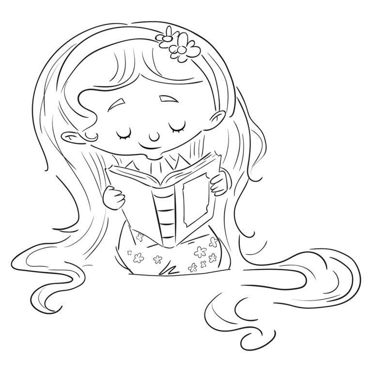 Dibujos Gratis Para Colorear Dibustock Ilustraciones Infantiles De Stock Nino Estudiando Dibujo Ilustraciones Paginas Para Colorear