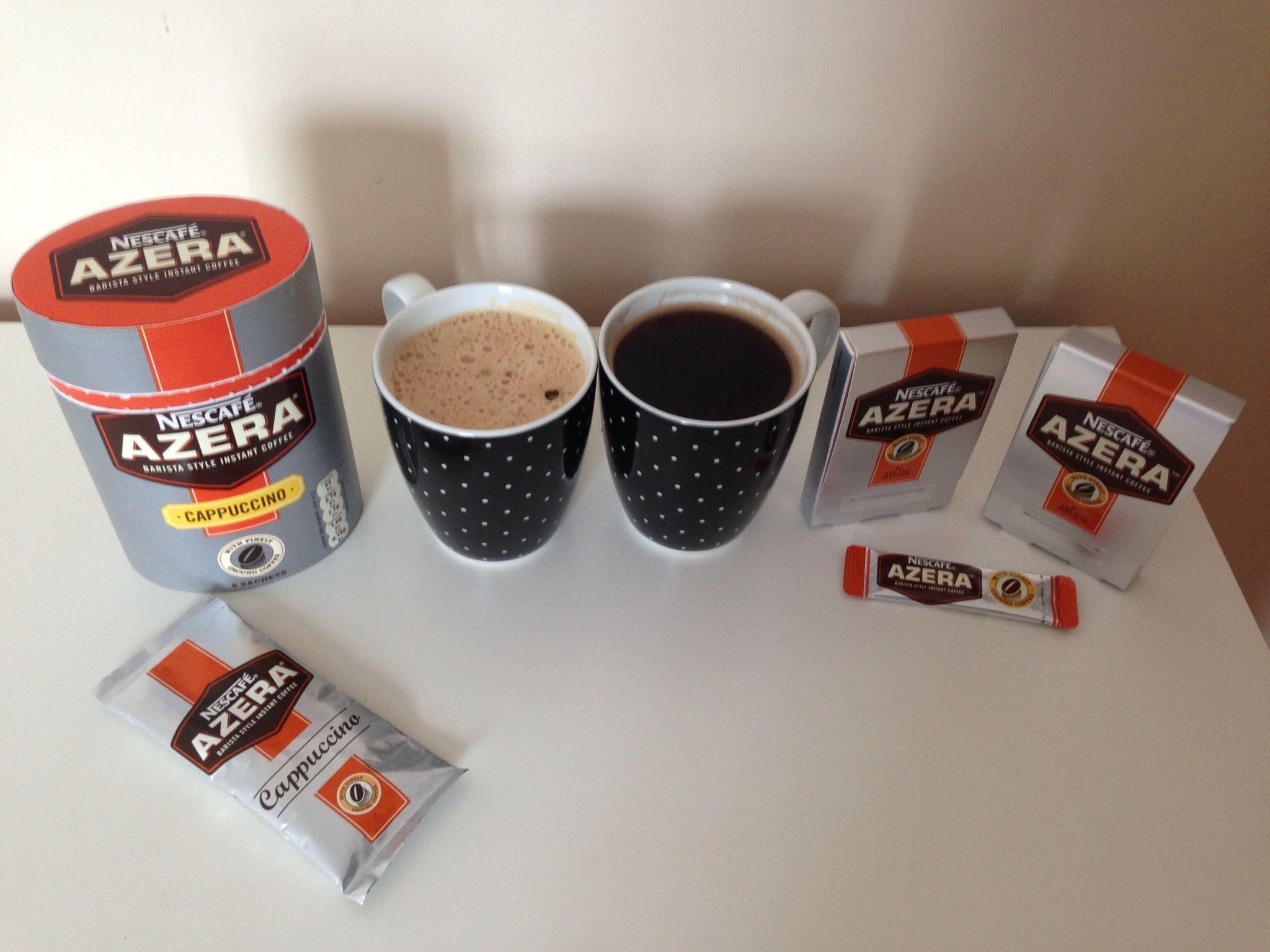 Azera Cappucino and Instant Coffee GOTITFREE Nescafe