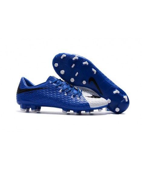 sale retailer 1e41f cba57 Nike Hypervenom Phelon III FG PEVNÝ POVRCH Modrý Bílá Černá Muži Kopačky
