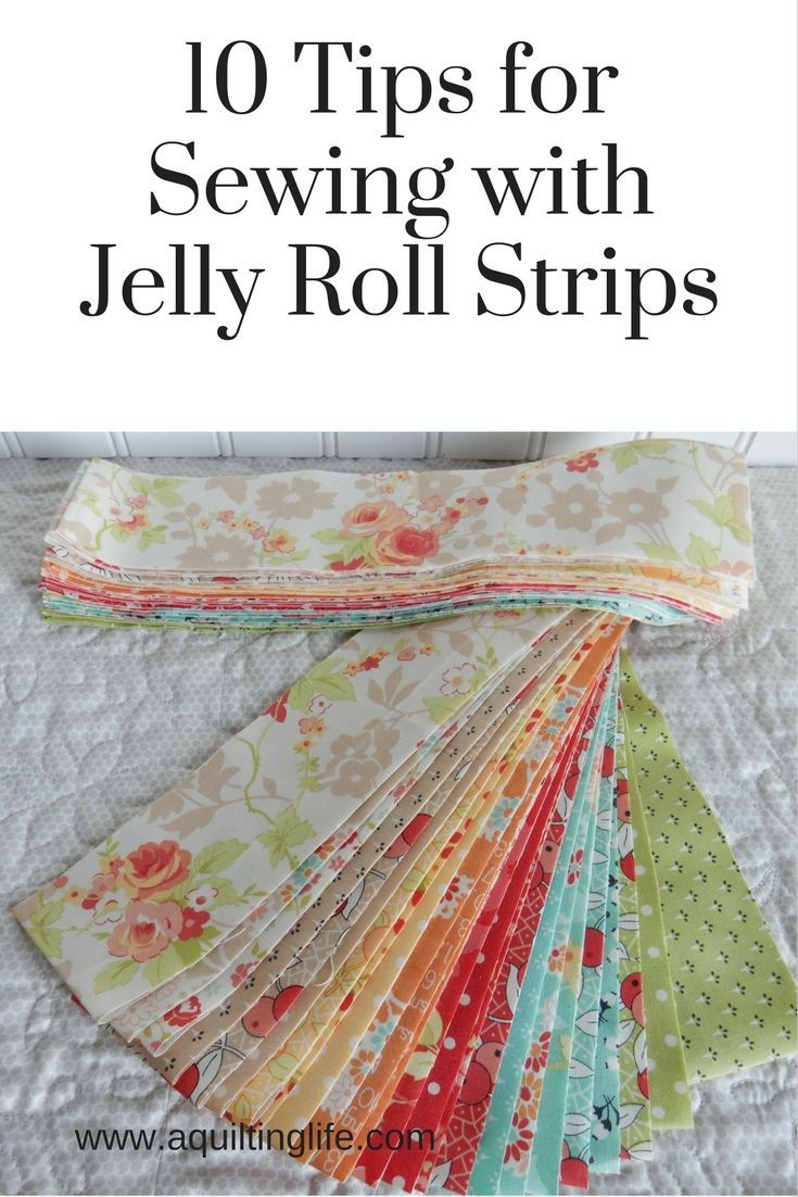 10 ideas for using jelly roll strips in your quilts and quilt ... : strip quilts using jelly rolls - Adamdwight.com