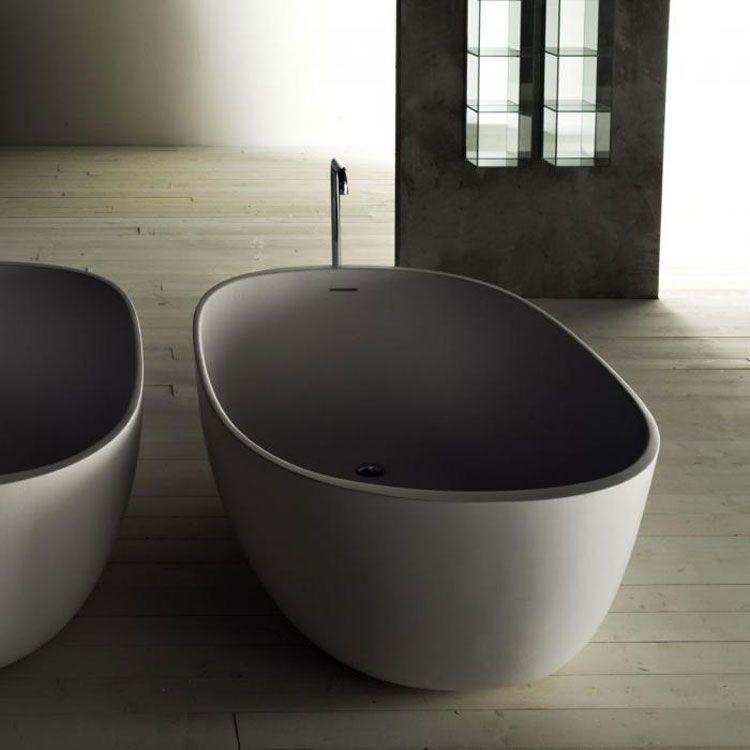 50 Foto di Vasche da Bagno Moderne   Minimal