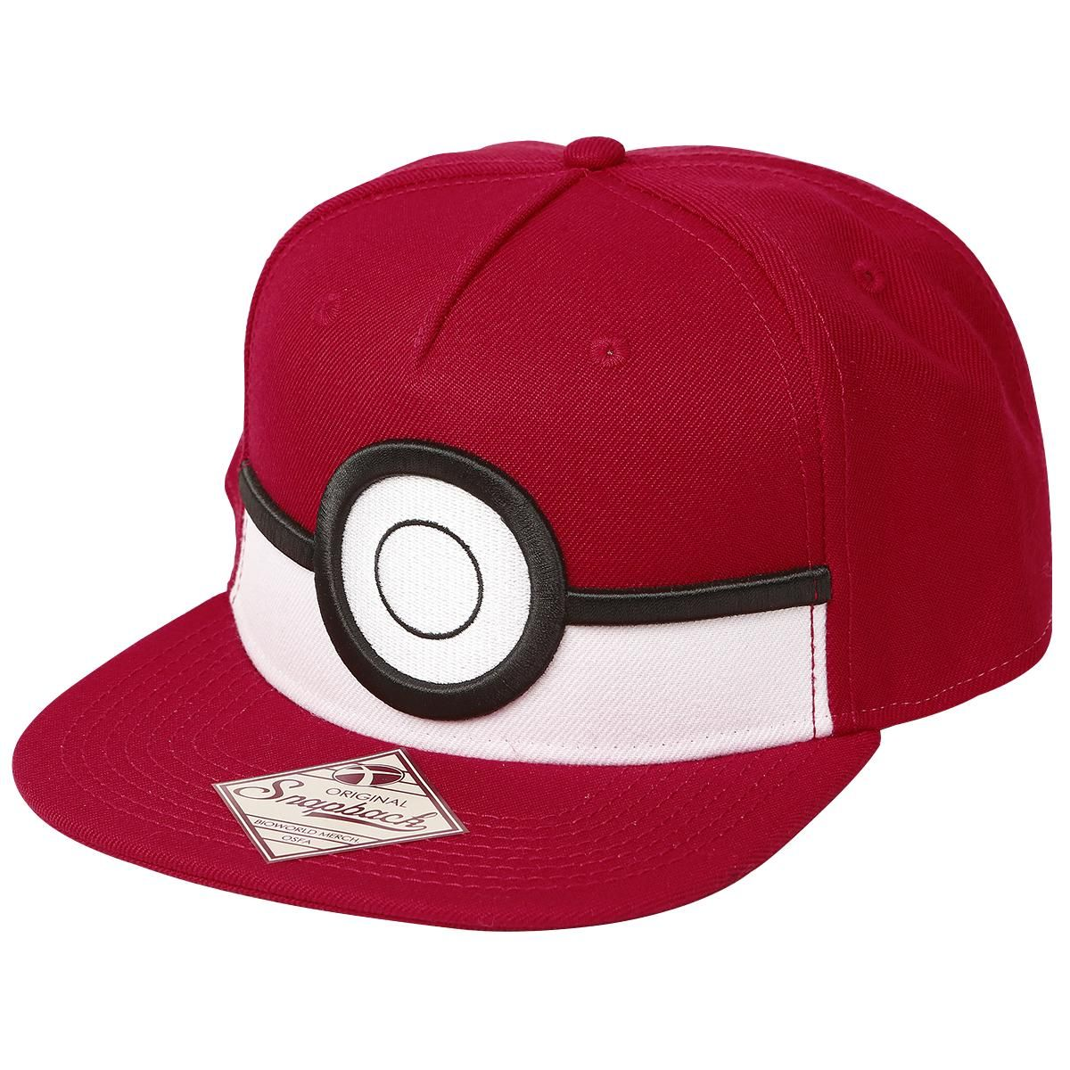 3D Poke Ball - Cap af Pokemon