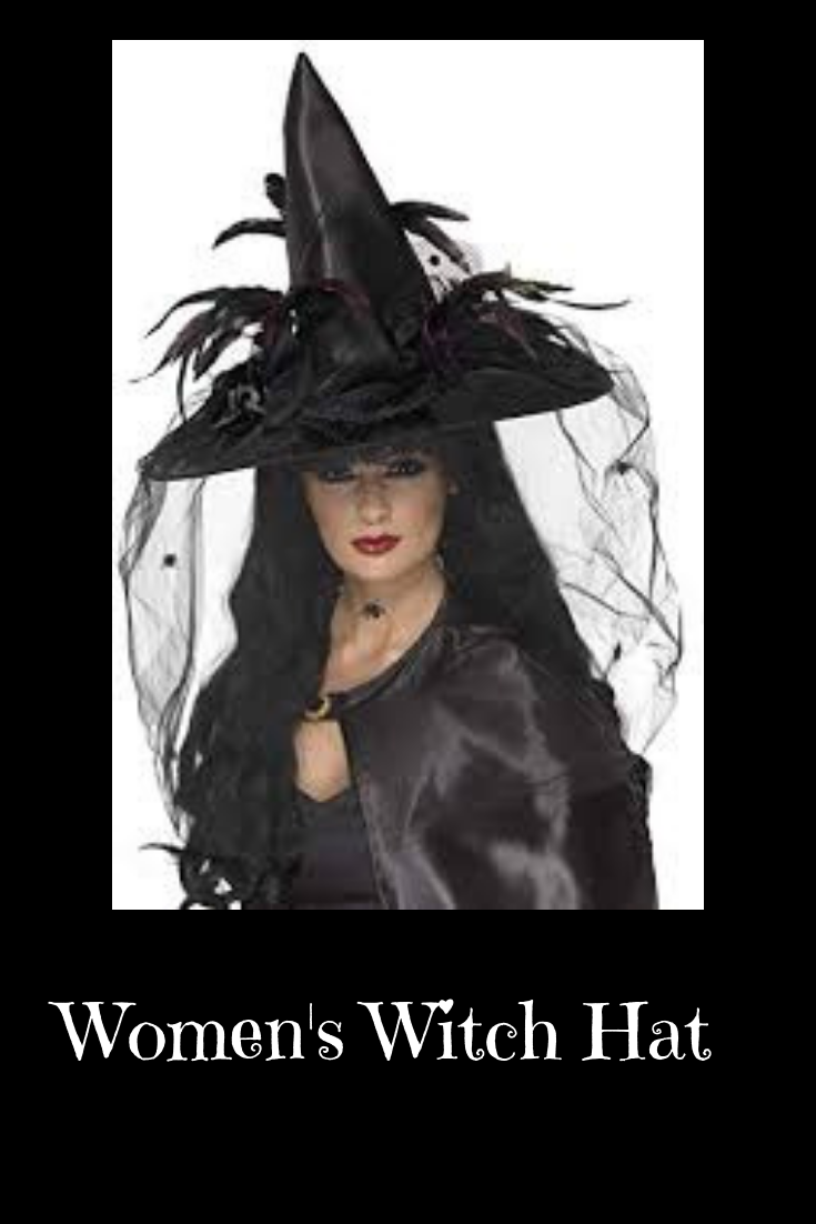 Perfect & very classy hat. Witch halloween costume
