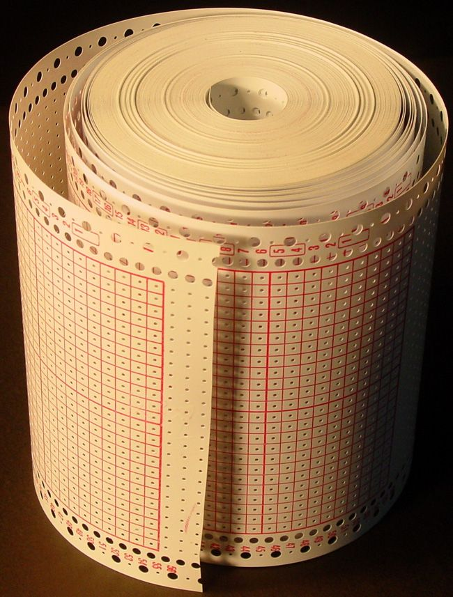 Blank Punch Card Roll For Brother Singer Knitting Machine Punchcard ...