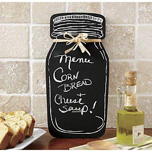 Chalkboard Jar from Ginny's ®   J2710653