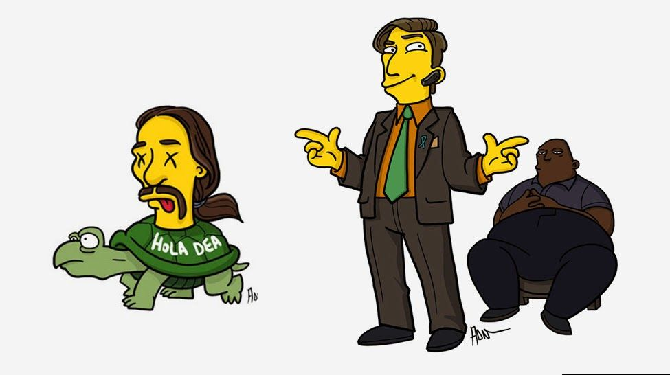 Breaking Bad versão Simpsons - Adrien Noeterdaem