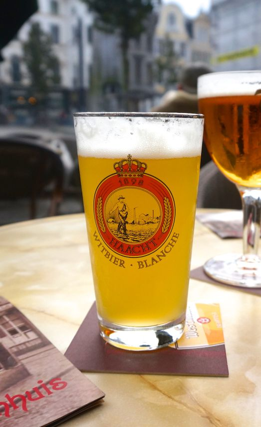 Witbier in Belgium, one of the best beer countries in the world.