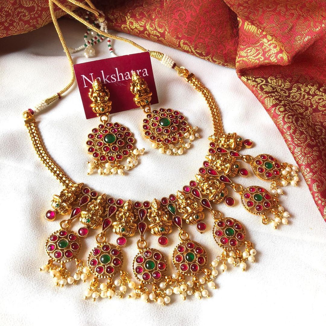 Brand Name Nakshatra Chennai Contact Https Www Instagram Com Nakshatrachennai Jewelry Design Necklace Fashion Jewelry Necklace Designs