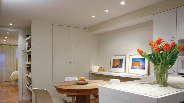 un chouette logement au sous sol choses que j 39 adore pinterest sous sols logement et ma maison. Black Bedroom Furniture Sets. Home Design Ideas