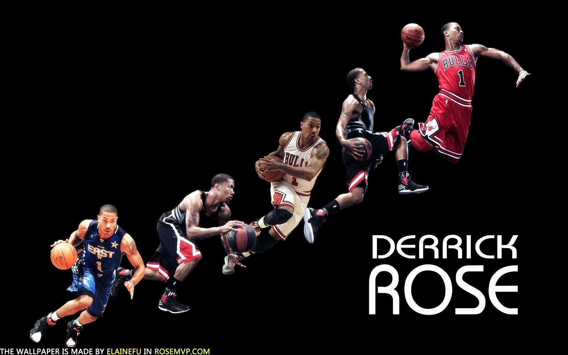Derrick Rose Dunk Wallpapers Wallpaper Cave Derrick Rose
