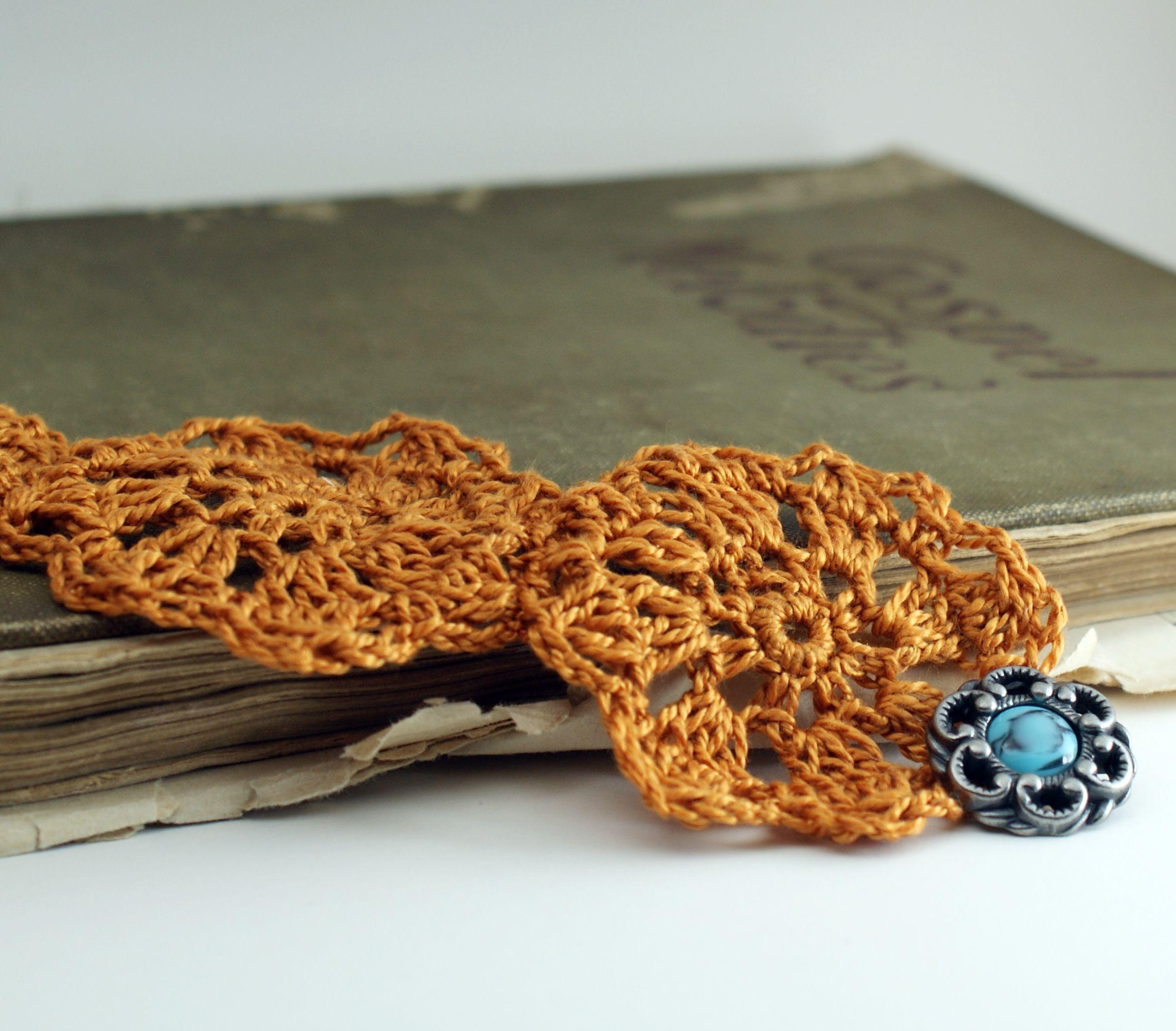 Crochet Flower Bracelet — Saved By Love Creations | Jewelry ...