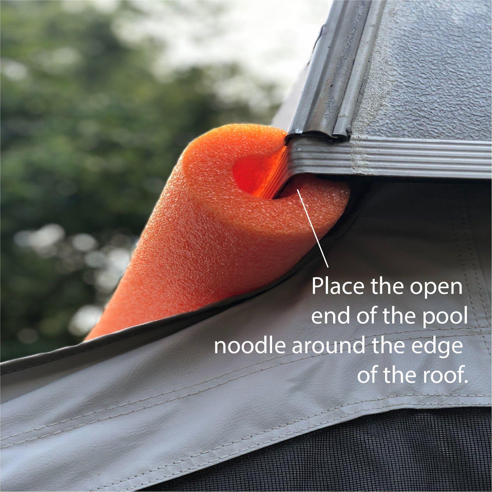 pop up tent condensation