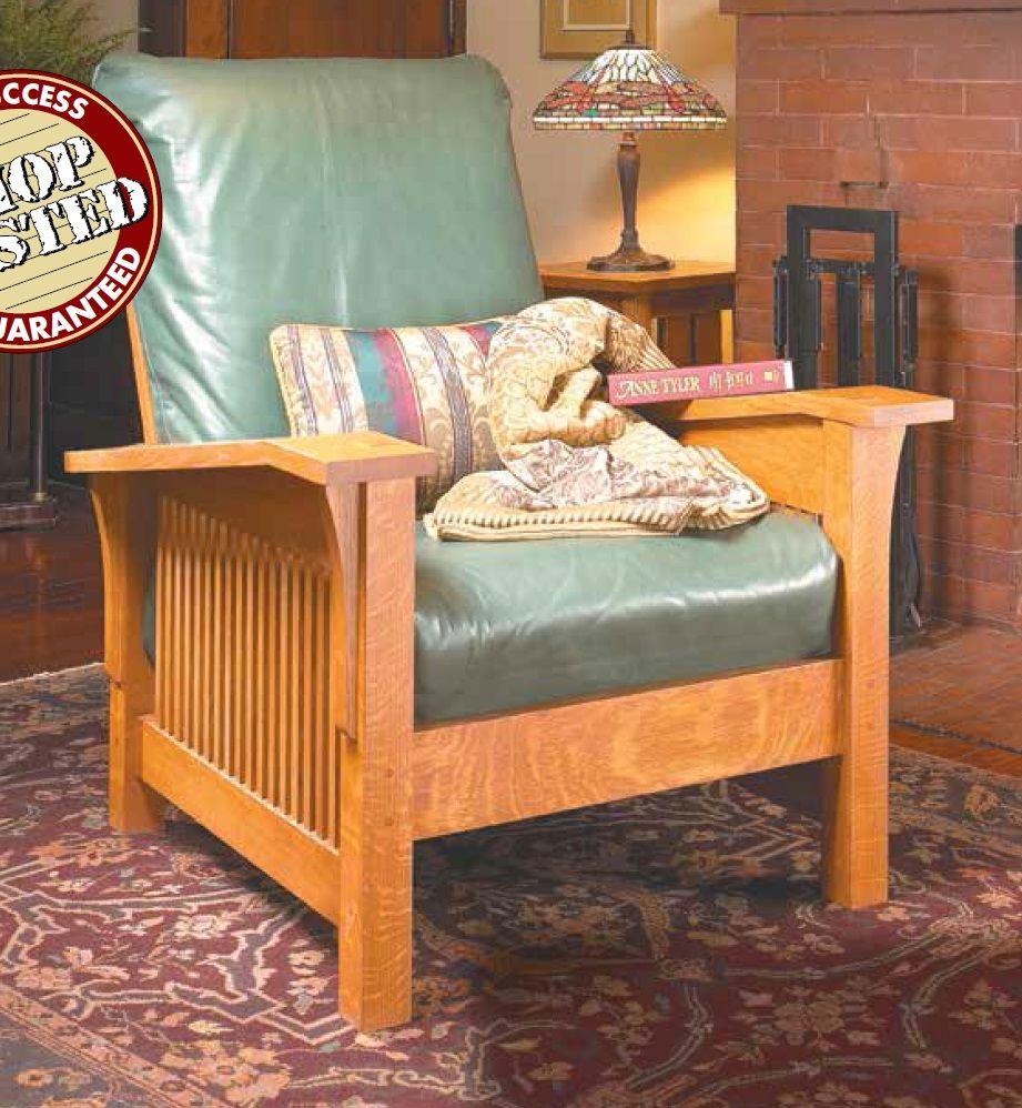 Craftsman Morris Chair  Furniture, Morris chair, Chair