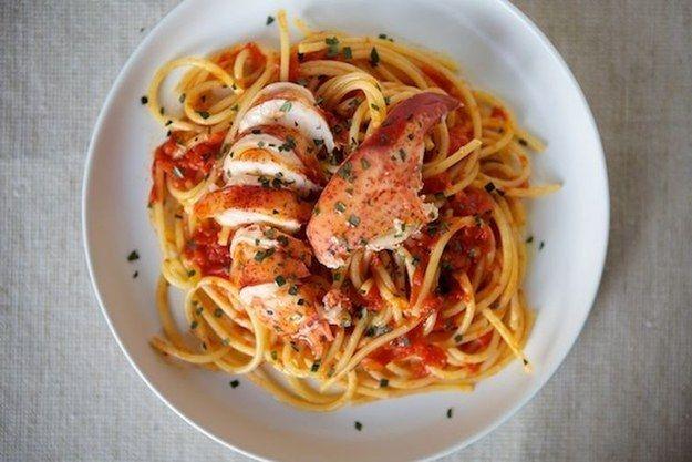 Langosta fra diavolo | 25 Formas brillantes de hacer espagueti para la cena