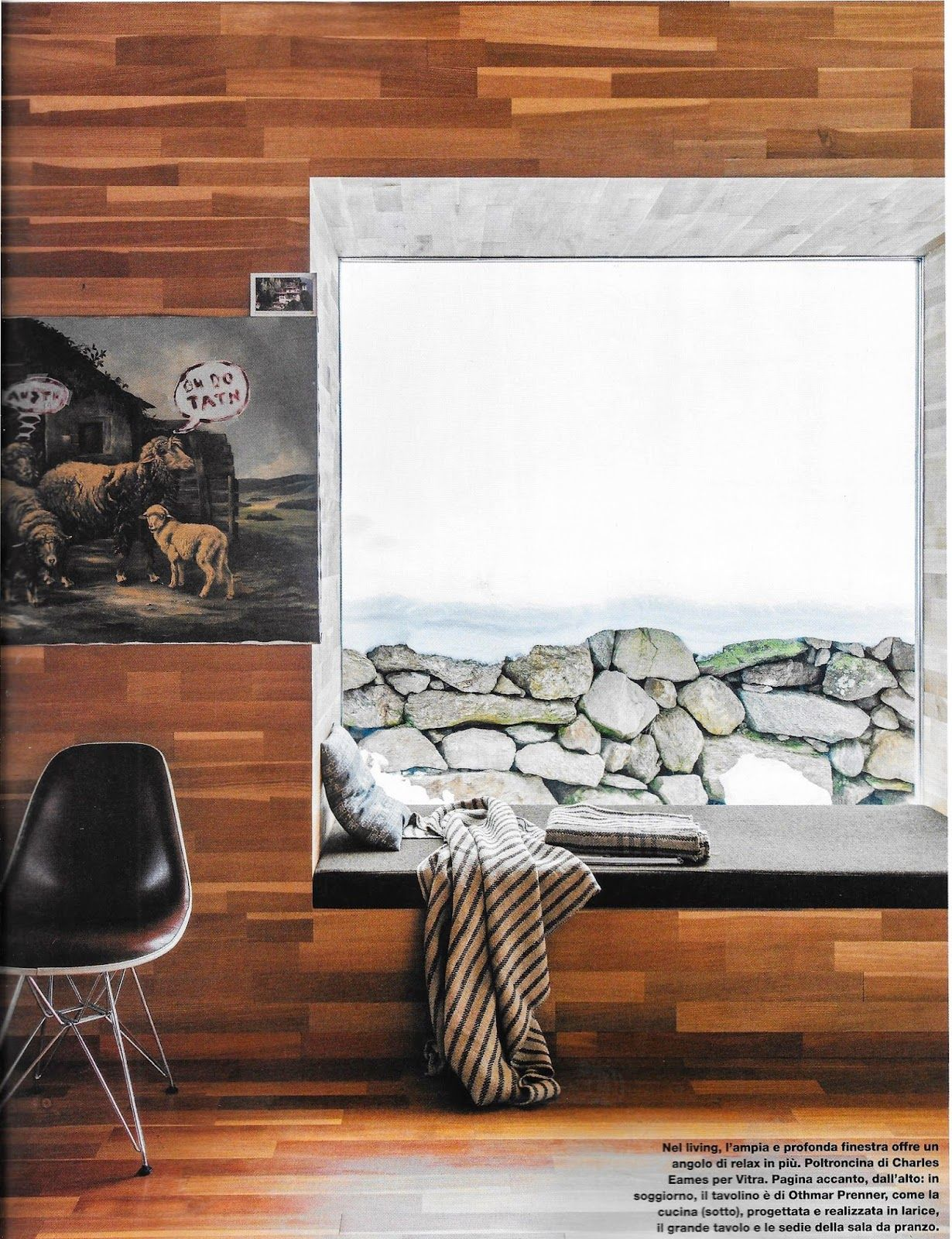 The perfect mountain retreat Window seat with view of Endkopf peak in the Tyrolean Alps