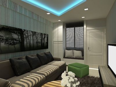 Hdb 3 room renovation ideas google search reno ideas for Living room renovation ideas