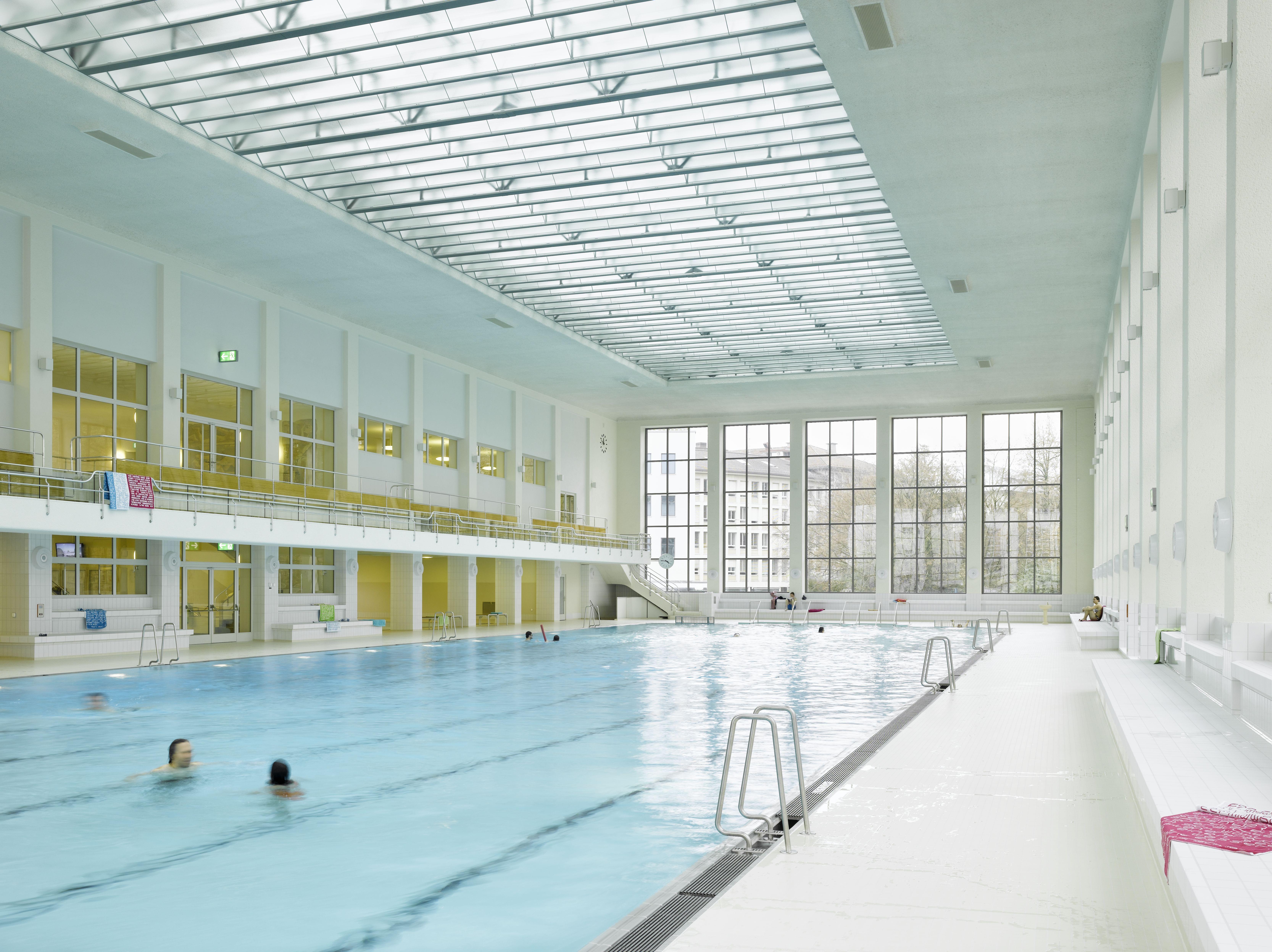 Modern Architecture Zurich hallenbad zurich | a&u - modern architecture & urbanism