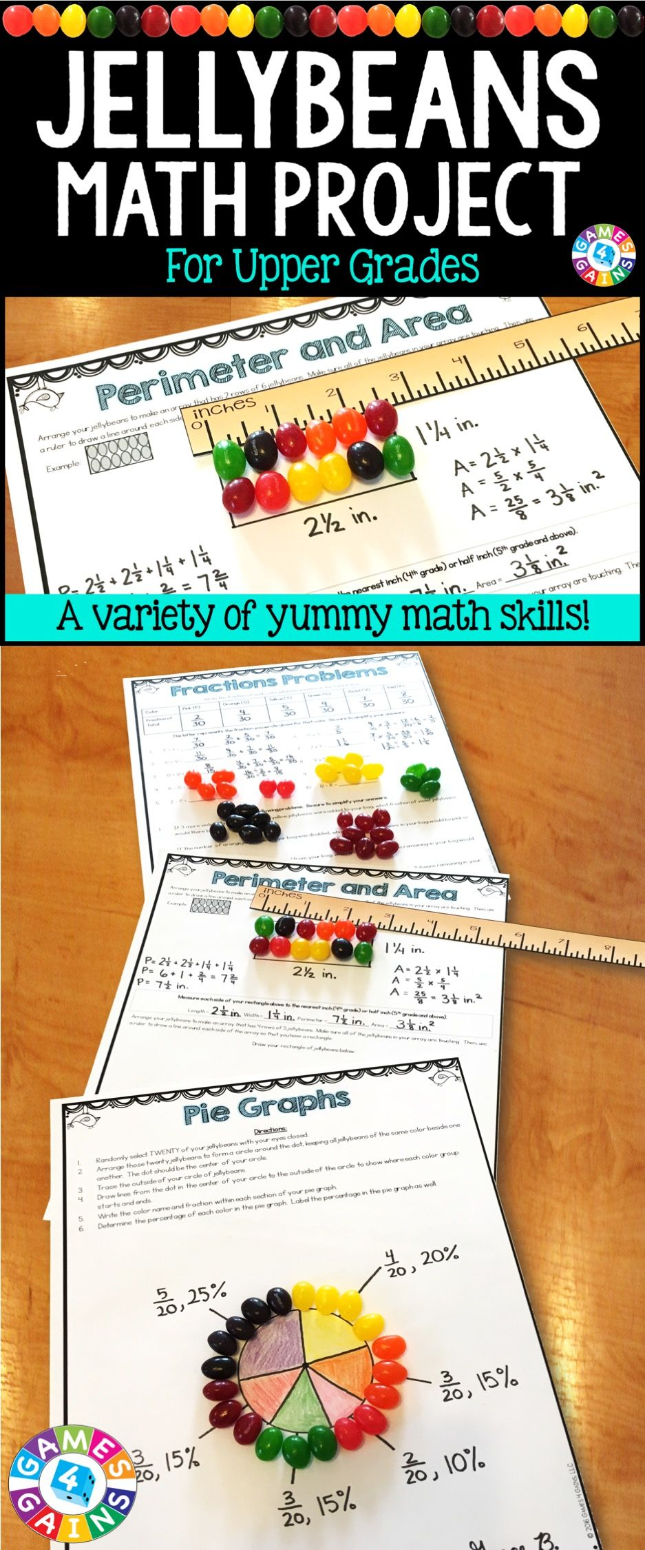 easter jellybean activities easter math with jellybeans games 4 gains products teaching. Black Bedroom Furniture Sets. Home Design Ideas