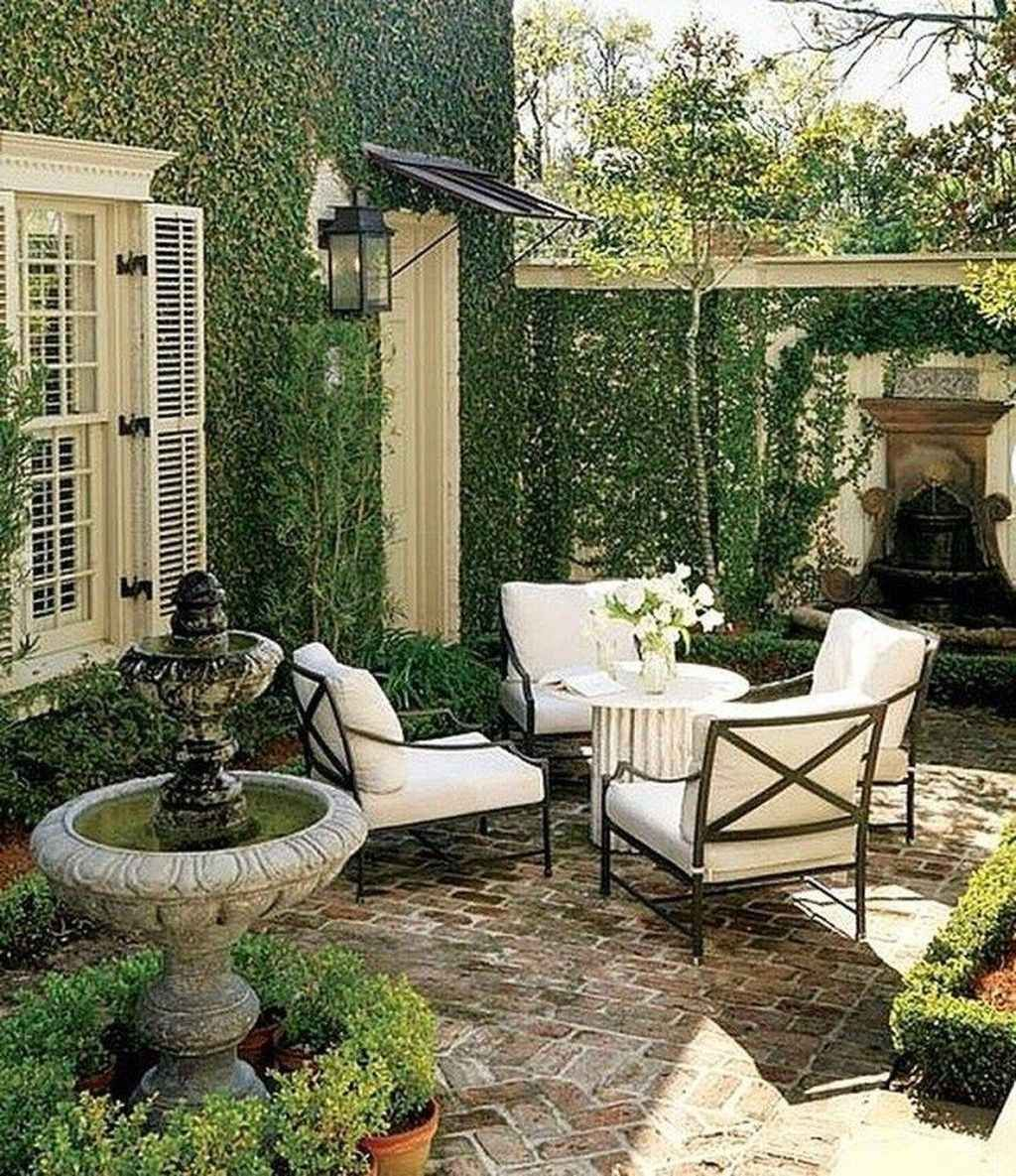 95 Small Courtyard Garden with Seating Area Design Ideas ...