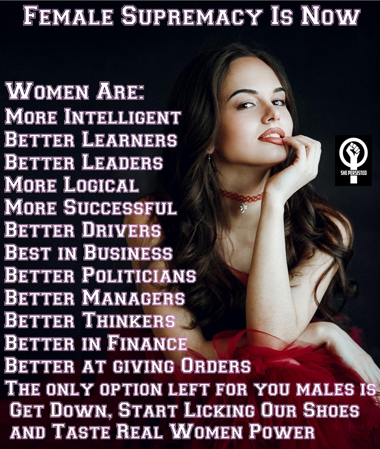 Female domination superiority congratulate, your