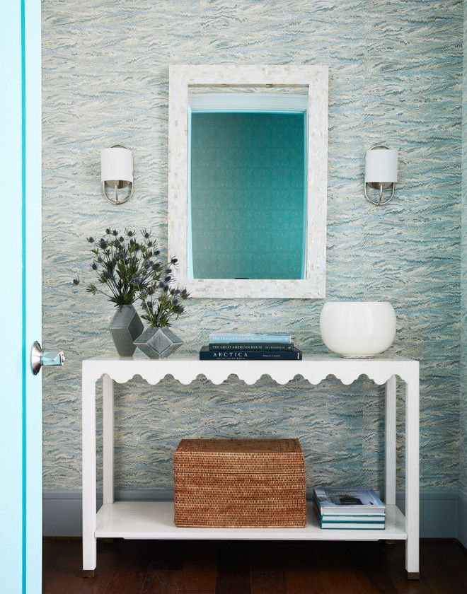 Wallpaper Ideas Twigs Pheasant Marbleized wallpaper #TwigsPheasant #Marbleizedwallpaper #wallpaper #wallpaperideas Andrew Howard Interior Design