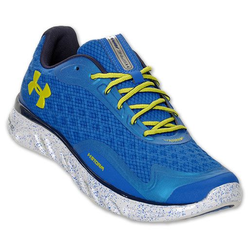 under armour shoes spine | Under Armour Spine Storm Men's Running Shoe  Blue/Yellow [