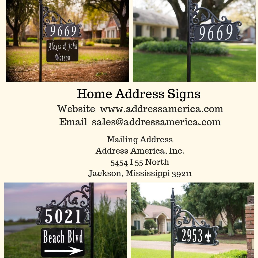 At address america store buy the premium quality reflective address signs possessing anti rust