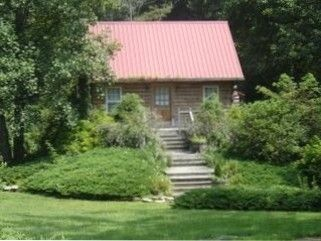 VRBO.com #221538 - Real Log Cabin, Beautiful Rushing Trout Stream,  New Hot Tub