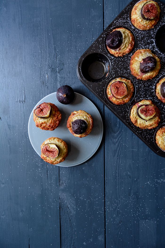 Fig, Ricotta and Olive Oil Muffins ° eat in my kitchen