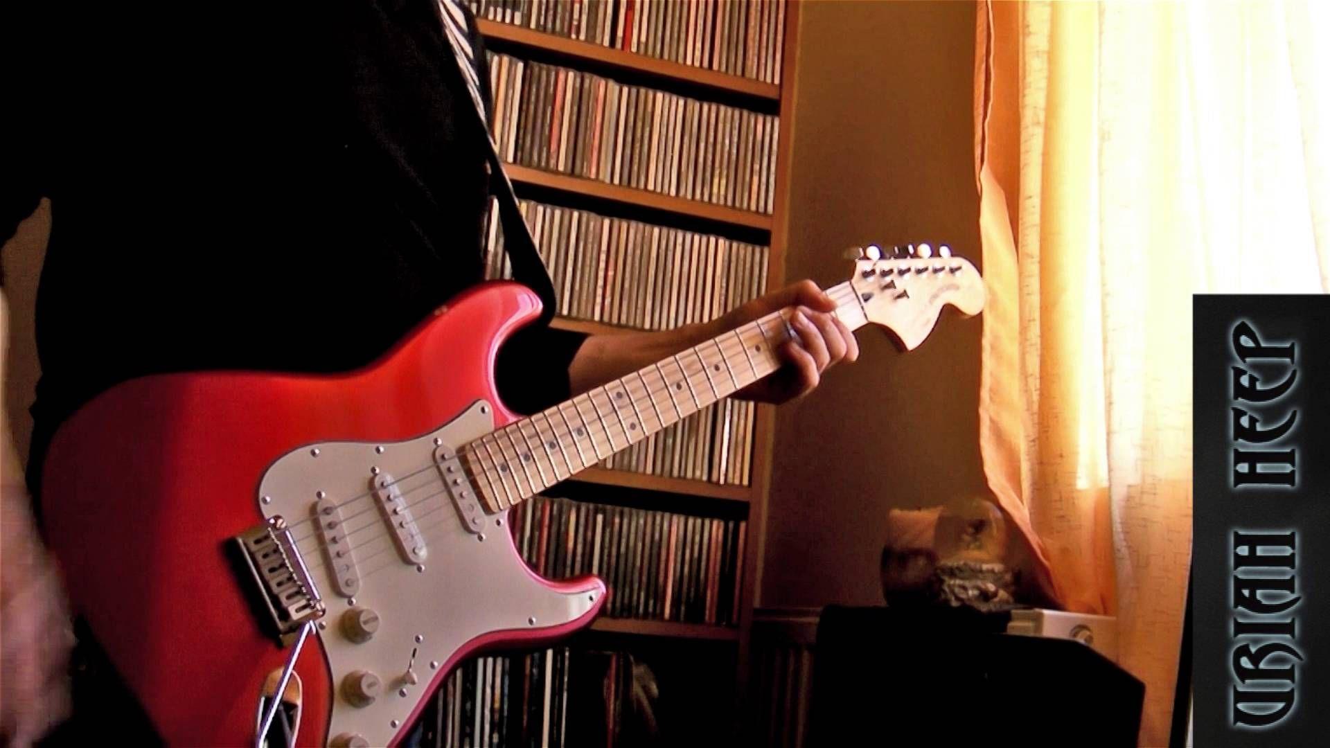 URIAH HEEP - Easy livin' (guitar cover)