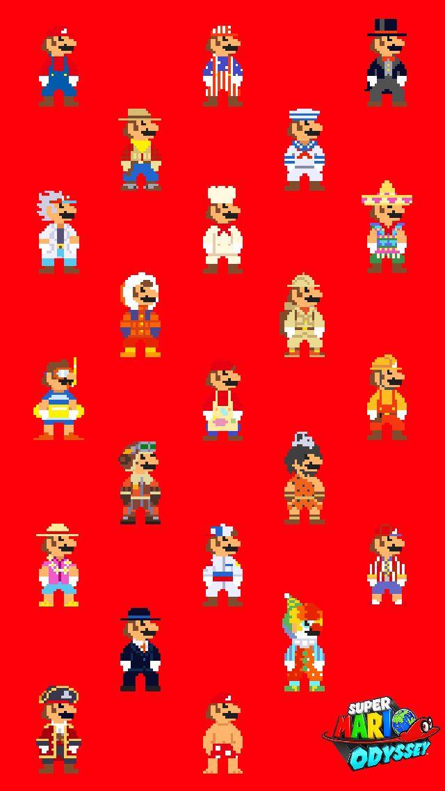 Super Mario Odyssey Wallpaper Super Mario Art Mario Art Super Mario