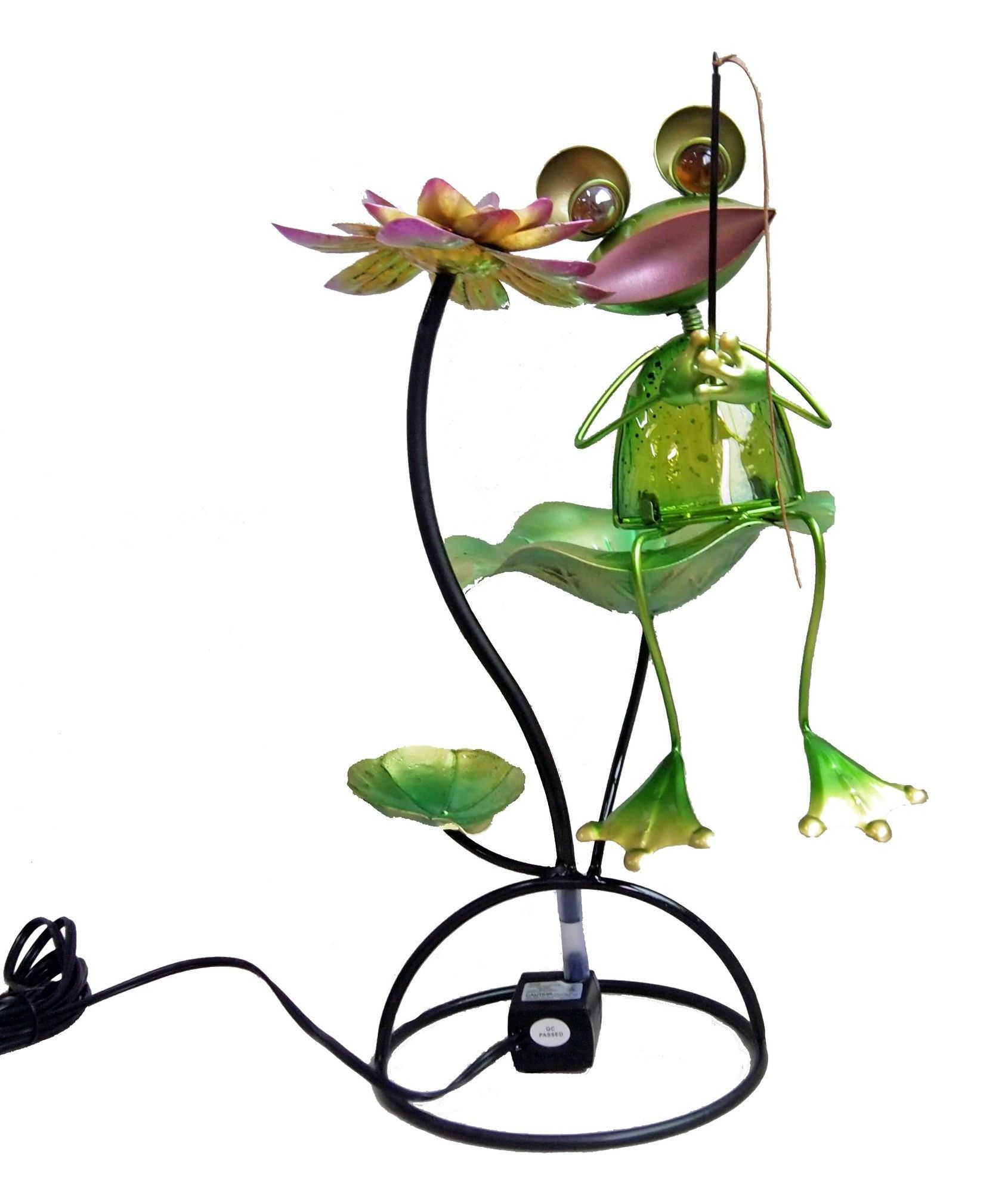 Frog Tabletop Fountain Tabletop fountain, Outdoor wall