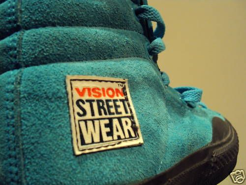 Vintage Vision Street Wear Hi Top Suedes , Best shoe ever.