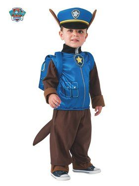Boy's Paw Patrol Chase Child Costume - #halloweencostumes #Halloween #Coupons #Deals #Offers