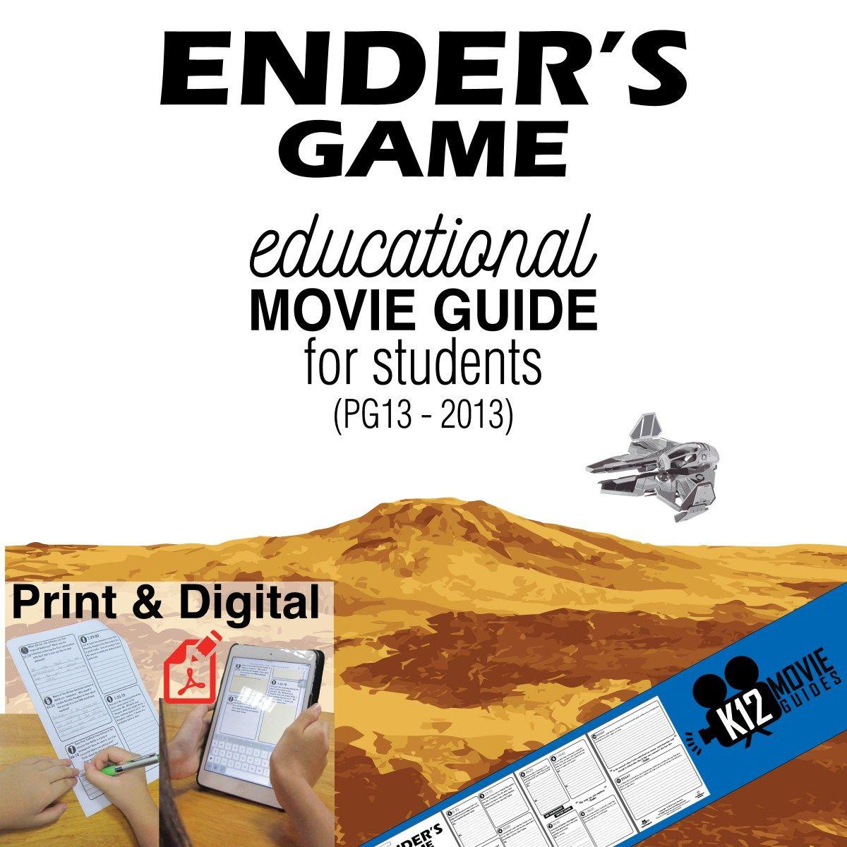 Ender S Game Movie Guide Pg13