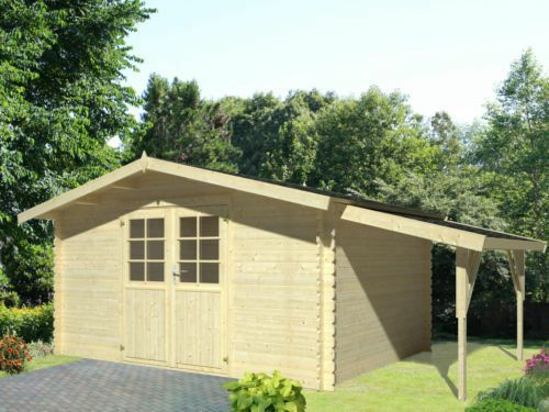 eBay Sponsored 34 mm Gartenhaus Greta ca.4x3m & Holz