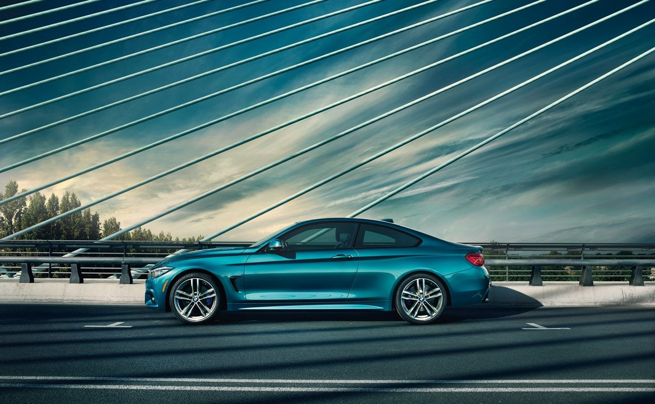 The Bmw 440i Coupe In Snapper Rocks Blue Metallic With M Sport