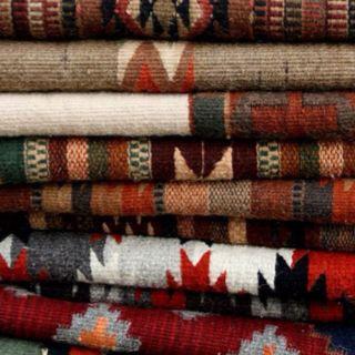 Rustic Luxe handcrafted blanket looks.