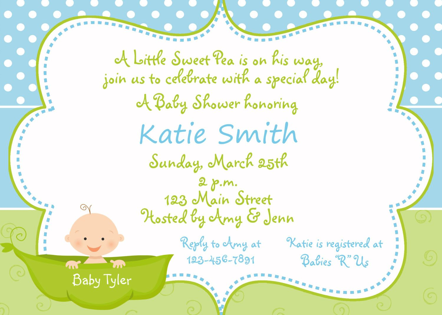 Having A Baby Shower ? Don\'t Forget The Invitations | Baby Shower ...