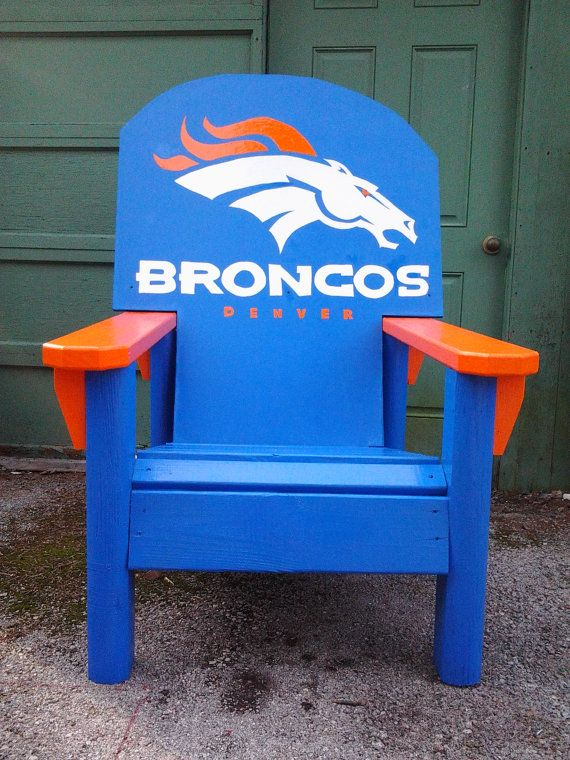 Huge Chair, Sports Chair, Gaming Chair,logos ,adirondack Style, Man Cave  Item , Patio Chair, Tailgating Chair NFL Inspired Chair
